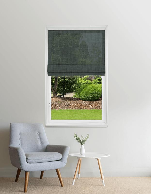 Eucalyptus semi-transparant vouwgordijn